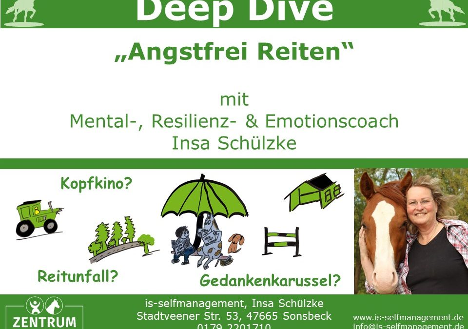 Deep Dive: Angstfrei und Mental Stark Reiten – kurzfristig und nachhaltig Erfolge erzielen