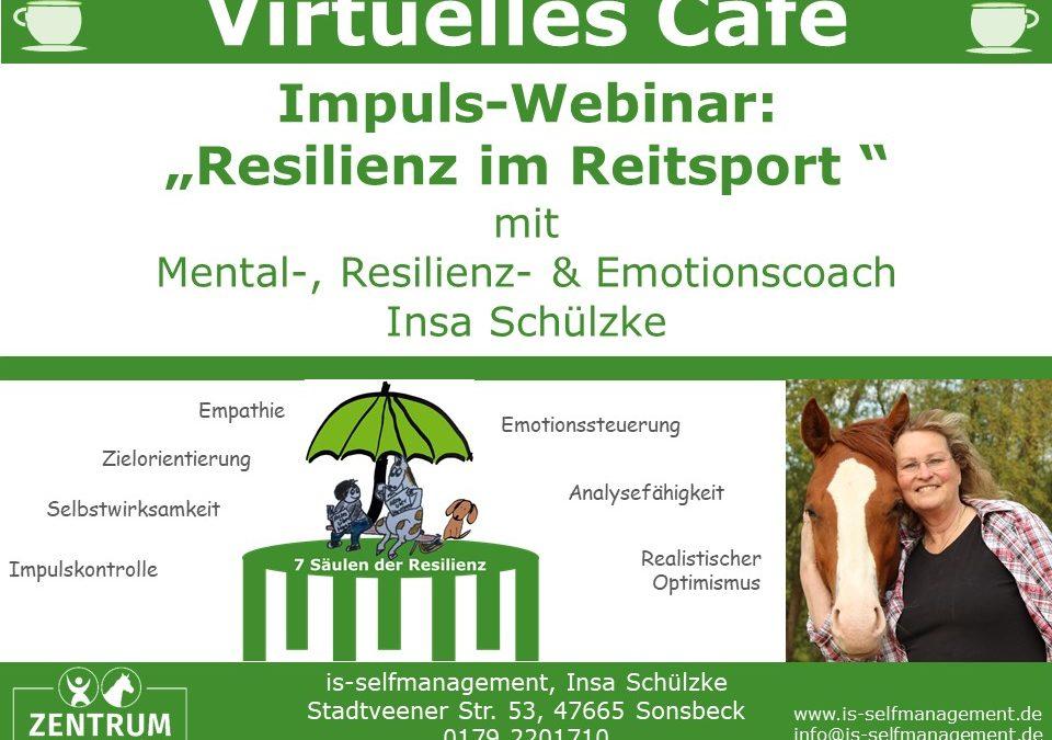Virtuelle CAFÉ zum Thema Resilienz